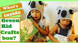 green kid crafts subscription box insects review youtube