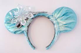 frozen headband frozen elsa inspired mickey mouse ear headband by incindyscloset