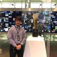 fil a fan experience logan breault sales associate college football hall of fame and