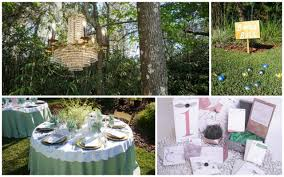 chic garden for wedding reception photo of garden wedding