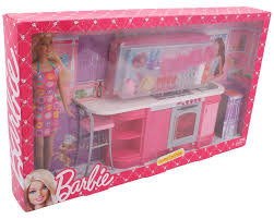 barbie cooking fun kitchen doll multi color amazon in toys u0026 games