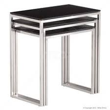 buy nest of tables the actona katrine nest table is a nest of 3 tables glass table tops