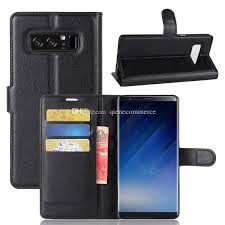 Rugged Mobile Phone Cases Cool For Samsung Note 8 Wallet Case For Luxury Pu Leather Phone