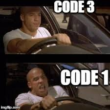 Code Meme - meme i live my life one code one at a time protectandserve
