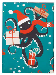 octopus wrapping paper gift guide paper seattle magazine