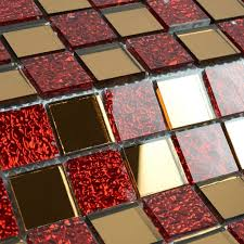 Mirrored Mosaic Tile Backsplash by 1000 Images About Backsplash On Pinterest Mosaic Tiles Tile