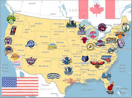 map of nba teams this is a picture of map nba basketball teams all and nba