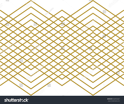 stripes zig zag aztec pattern wallpaper stock vector 432933427