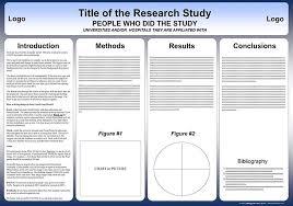 poster presentation template 90 x 120 free powerpoint scientific