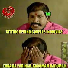 Tamil Memes - crush one side lovers latest memes gethu cinema