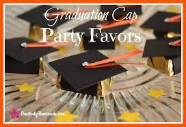 graduation favors to make graduation cap candy favors creatively