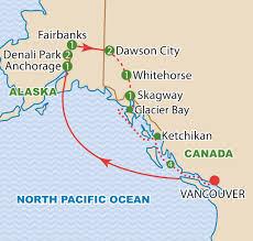 Ketchikan Alaska Map by Alaska Denali And The Yukon August 2017 Craig Travel