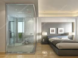 chambre d hotel de luxe une chambre d hôtel de luxe dans un décor contemporain avec salle