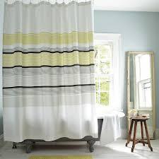 Stripe Shower Curtains Interesting Striped Shower Curtains And Best 10 Striped Shower