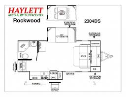 rockwood trailers floor plans 2015 forest river rockwood ultra lite 2304ds travel trailer