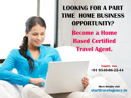 how to become travel agent images Looking for a part time home business opportunity become a home jpg