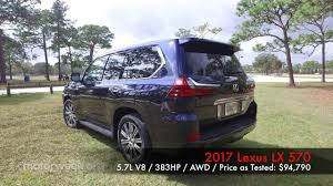 lexus lx us news mwlot 2017 lexus lx 570 youtube