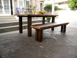 arbor exchange reclaimed wood furniture outdoor dining table