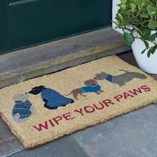 Buy Wipe Your Paws Door Wipe Your Paws Coir Doormat The Company Store