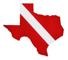 Texas State Flag Innovative Texas State Scuba Dive Bumper Sticker