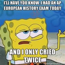 Ap Euro Memes - i ll have you know i had an ap european history exam today and i