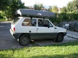 tenda tetto auto pandacaravan panda 4x4 cerizzata www danieleverducci it