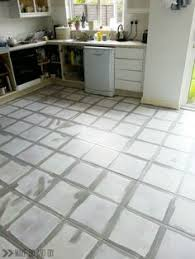 how to paint a tile floor and what you should think about before