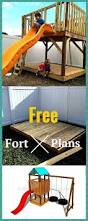 play fort plans the roof and swing set frame mecanismos y