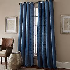 Drapery Liners Grommet Manhattan Grommet Top Embroidered Window Curtain Panel Bed Bath