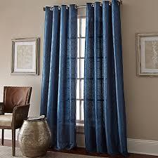 Manhattan Curtains Manhattan Grommet Top Embroidered Window Curtain Panel Bed Bath