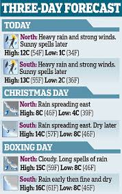 forecast rain on christmas eve sunny for christmas uk weather sees wet rather than white christmas daily mail online