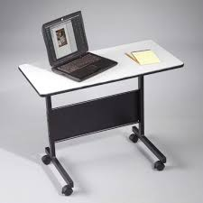 Small Portable Computer Desk The Small Laptop Table With Adjustable Height For Home