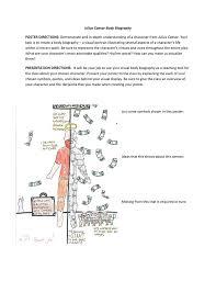julius caesar body biography poster directions demonstrate