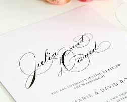 wedding invitations font top 10 wedding invitations with script wedding invitations