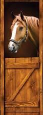 diy 3d wall sticker mural home decor horse old stall barn western