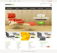 website template 33794 comfort line furniture custom website