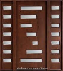 bavas wood works main entrance wooden double door designs for