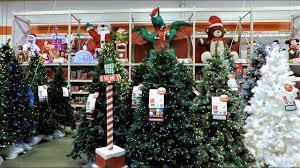 4k christmas section at home depot christmas shopping christmas