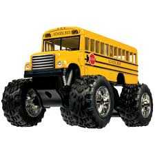 monster trucks tv show amazon com kinsfun 5020 big wheel monster bus 5 inch toys u0026 games