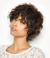 long shag haircuts for women over 50 casual short shaggy hairstyles with bangs for curly hair lowlight 10