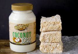 coconut oil rice crispy treats golden barrel