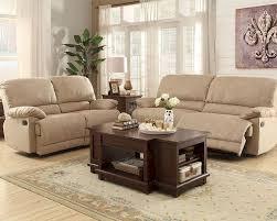 reclining sofa set elsie by homelegance el 9713nf set