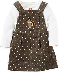 Thanksgiving Dresses For Infants Carter U0027s Baby Thanksgiving Dress Set Size Nb Newborn 3 Months