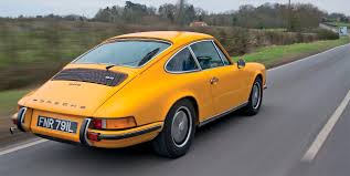 Porsche 911 Orange - 1973 porsche 911 group test the full s e t drive
