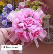 Corsage And Boutonniere For Prom Prom Wrist Corsage Ebay