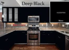 Matte Black Kitchen Cabinets Matte Black Kitchen Cabinets Nurani Org