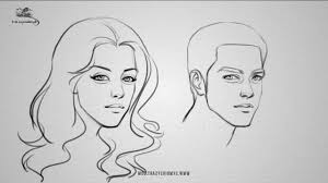 face drawing archives drawing artistic