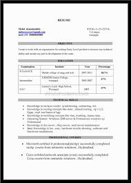 Sample Resume For Ccna Certified What Is The Resume Headline For Freshers Resume For Your Job