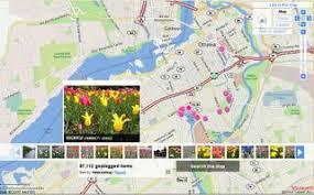tulip festival map between the poles ottawa tulip festival with a nikon p6000