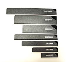 amazon com dexter 7 piece knife blade guard set protects knife